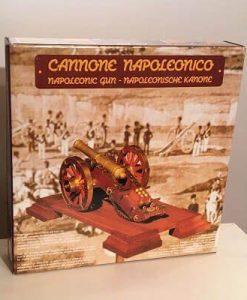 Cannone Napoleonico Mantua Model: kit di montaggio in legno art 804