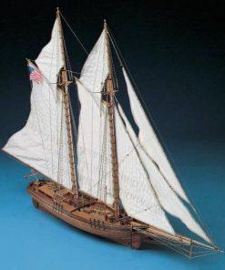 FLYING FISH Goletta Americana Corel: Kit di montaggio in legno SM19