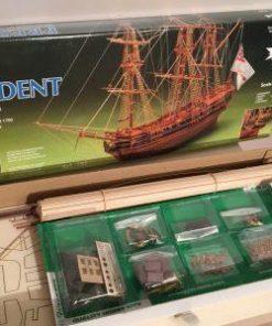 President Fregata Mantua Model Sergal: kit di montaggio in legno art 792