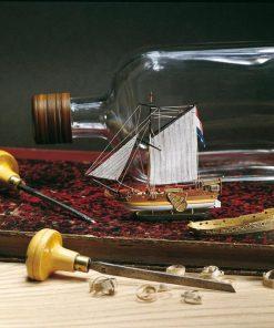 Yacht Olandese Amati: kit di montaggio in legno AM 1350