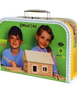 Costruzioni Vario Suitcase kit casa in legno walachia 72 pezzi W35