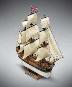 HMS Bounty Mini Mamoli: kit di montaggio in legno MM01
