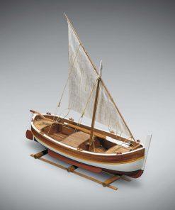 Gozzo Vela Mini Mamoli: kit di montaggio in legno MM07