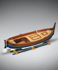Gozzo Mediterraneo Mini Mamoli: kit di montaggio in legno MM66