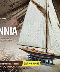 Britannia Mini Mamoli: kit di montaggio in legno MM09