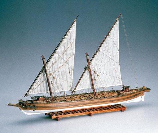 CANNONIERA ARROW Amati: kit di montaggio in legno AM 1422