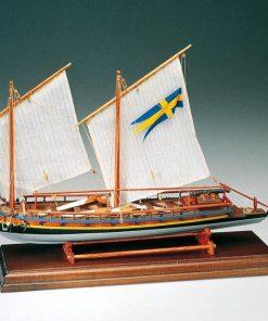 CANNONIERA SVEDESE Amati: Kit di montaggio in legno AM 1550