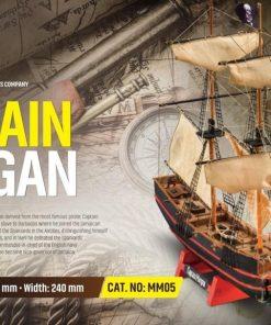 Captain Morgans Mini Mamoli: kit di montaggio in legno MM05