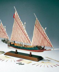 GALEOTTA GRECA Amati: kit di montaggio in legno AM 1419