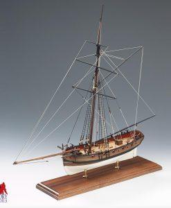 H.M. CUTTER Lady Nelson Amati: Kit di montaggio in legno AM 1300/01