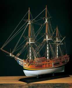 H.M.S. BOUNTY Amati: kit di montaggio in legno AM 1432