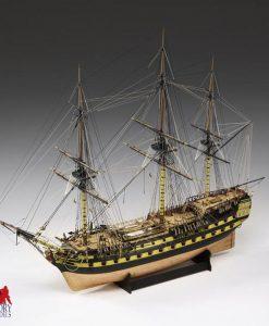 H.M.S. VANGUARD Amati: kit di montaggio in legno AM 1300/04