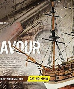 HMS ENDEAVOUR Mini Mamoli: kit di montaggio in legno MM18
