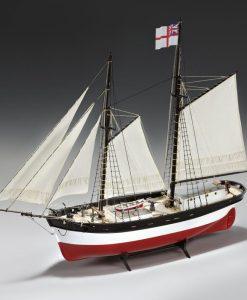 HUNTER Q-SHIP Amati: kit di montaggio in legno AM 1450