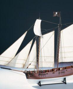 Nave Pirata Adventure Amati: Kit di montaggio in legno AM 1446