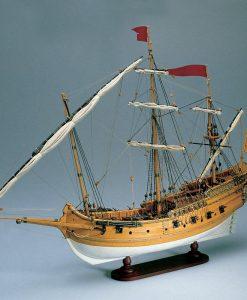 Polacca Veneziana Amati: Kit di montaggio in legno AM 1407