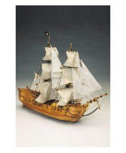 Black Falcon Mantua Model: kit di montaggio in legno art 768