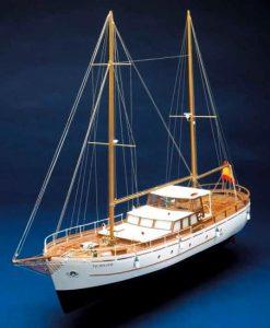 Bruma Mantua Model: kit di montaggio in legno art 736