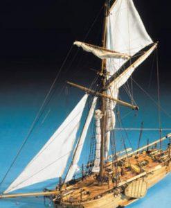 Cannoniera Olandese Mantua Model: kit di montaggio in legno art 797