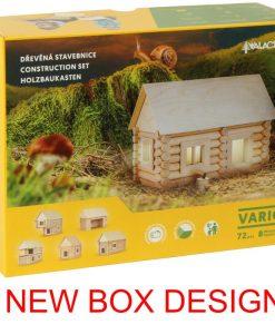 Costruzioni Vario kit casa in legno walachia 72 pezzi W20