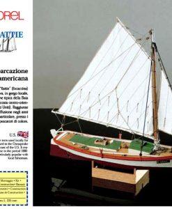 FLATTIE Corel: kit di montaggio in legno SM42