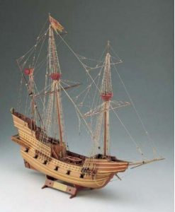 GALEONE VENETO Corel: kit di montaggio in legno SM31