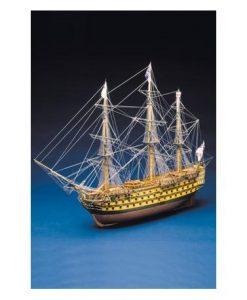 H.M.S. Victory Mantua Model Sergal: kit di montaggio in legno art 782