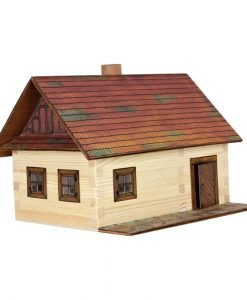 Hobby kit Casetta contadina kit casa in legno walachia W02
