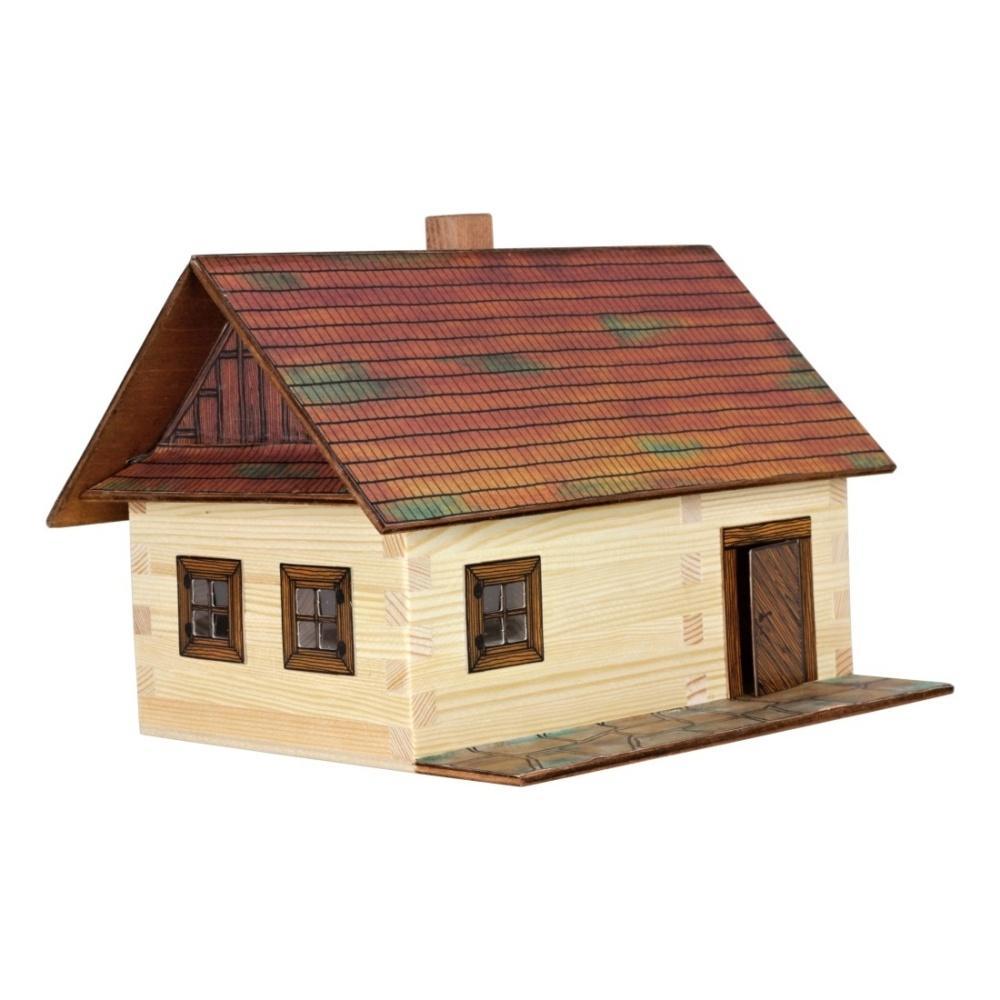 Hobby kit casetta contadina kit casa in legno walachia w02 for Kit casa icf