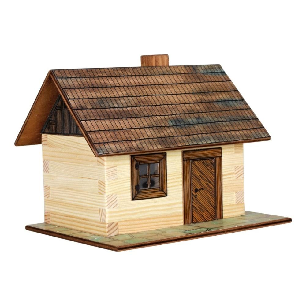 Hobby kit casina di campagna kit casa in legno walachia w01 for Case di kit vittoriano