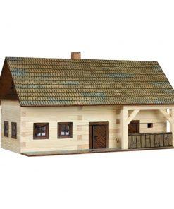 Hobby kit Maso Contadino kit casa in legno walachia W03