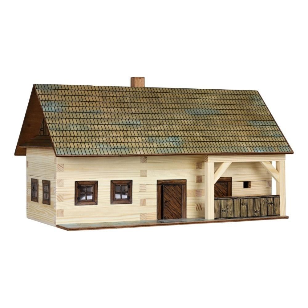 Hobby kit maso contadino kit casa in legno walachia w03 for Hobby del legno