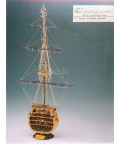 SEZIONE HMS VICTORY Corel: kit di montaggio in legno SM24