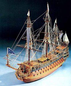 Le Soleil Royal Mantua Model Sergal: kit di montaggio in legno art 796