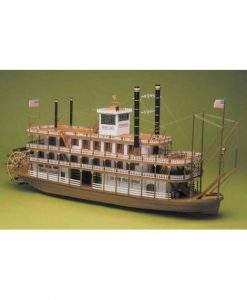 Mississippi Mantua Model Sergal: kit di montaggio in legno art 734