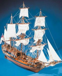 Peregrine Galley Mantua Model Sergal: kit di montaggio in legno art 786