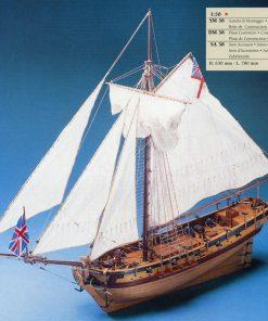 HMS RESOLUTION Corel: kit di montaggio in legno SM38
