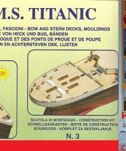 Titanic Mantua Model Panart: kit di montaggio n.3 art 727
