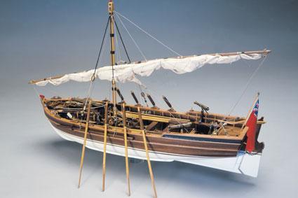 Scialuppa H.M.S. Victory Panart: kit di montaggio in legno art 751