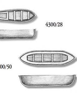 Scialuppa in plastica amati art 4300