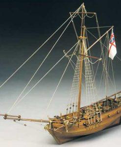 Sharke Mantua Model Sergal: kit di montaggio in legno art 783