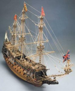 Sovrana dei Mari Mantua Model Sergal: kit di montaggio in legno art 787