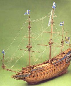 Vasa Mantua Model Sergal: kit di montaggio in legno art 737