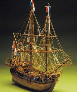 Baleniera Olandese Mantua Model: kit di montaggio in legno art 790