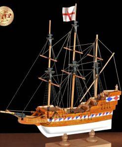 Galeone Elisabettiano Amati: first step kit di montaggio in legno art 600/02