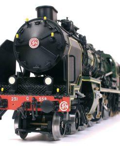 Locomotiva Pacific 231 Occre: modellino ferroviario art 54003