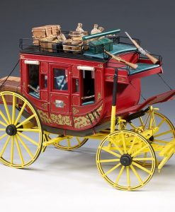 Diligenza Stage Coach far west Amati: scatola di montaggio art 1711/01