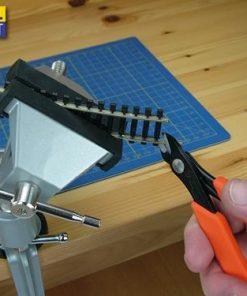 Morsa ModelCraft da tavolo con snodo PVC 7008