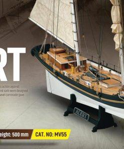 Alert Mamoli: kit di montaggio in legno MV55