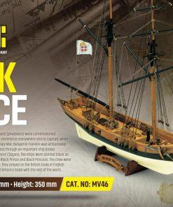 Black Prince Mamoli: kit di montaggio in legno MV46